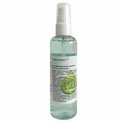 Антисептик для рук и поверхностей спиртосодержащий (70%) с распылителем 100 мл АЛЬТСЕПТ, дезинфицирующий, жидкость