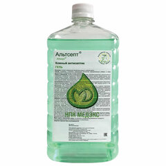 Антисептик-гель для рук спиртосодержащий (70%) 1 л АЛЬТСЕПТ, дезинфицирующий