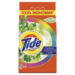 """Стиральный порошок автомат 6 кг TIDE (Тайд) АКВАПУДРА Color """"Сибирские травы"""""""