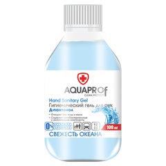 """Гель для рук антисептический спиртосодержащий (70%), 100 мл, AQUAPROF """"Свежесть океана"""""""