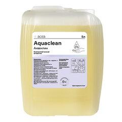 Антисептик для рук и поверхностей бесспиртовой 5 л АКВАКЛИН, дезинфицирующий, жидкость