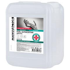 Антисептик кожный дезинфицирующий спиртосодержащий (70%) 10 л MANUFACTOR, гель