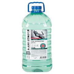 Антисептик-гель для рук (спирт более 70%) 5 л MANUFACTOR, дезинфицирующий