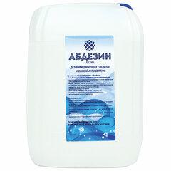 Антисептик для рук и поверхностей спиртосодержащий (64%) 5л АБДЕЗИН-АКТИВ, дезинфицирующий, жидкость