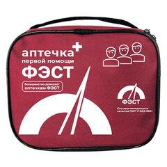 Аптечка первой помощи работникам офисная ФЭСТ, текстильный футляр, состав - по приказу №169н (футляр сумка 0370/1)