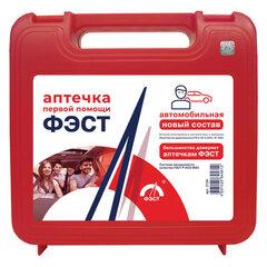 Аптечка первой помощи автомобильная ФЭСТ, футляр полистирол, состав - по приказу № 1080н