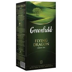 """Чай GREENFIELD (Гринфилд) """"Flying Dragon"""", зеленый, 25 пакетиков в конвертах по 2 г"""