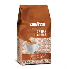"""Кофе в зернах LAVAZZA """"Crema E Aroma"""", 1000 г, вакуумная упаковка"""