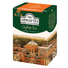 """Чай AHMAD (Ахмад) """"Ceylon Tea OP"""", черный листовой, картонная коробка, 200 г, 1289-012"""