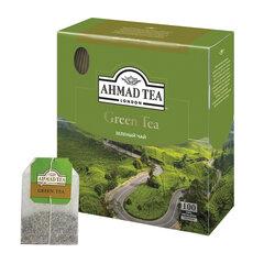 "Чай AHMAD (Ахмад) ""Green Tea"", зеленый, 100 пакетиков по 2 г, 478i-08"