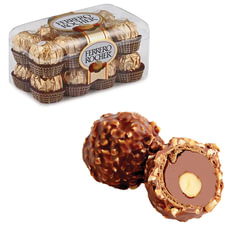 """Конфеты FERRERO """"Rocher"""", шоколадные, 200 г, пластиковая упаковка, 77070887"""