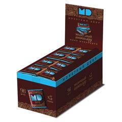 Шоколад порционный МОНЕТНЫЙ ДВОР, молочный шоколад 42%, 96 плиток по 5 г, в шоубоксах