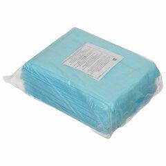 Простыни одноразовые ГЕКСА нестерильные, комплект 10 шт., 70х200 см, спанбонд ламинированный 40 г/м2, голубые