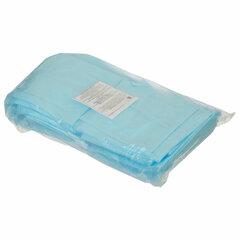 Простыни одноразовые ГЕКСА нестерильные, комплект 40 шт., 70х80 см, спанбонд 25 г/м2, голубые