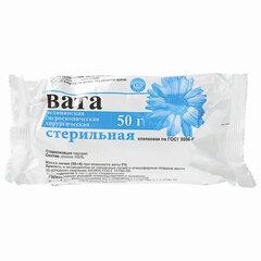 Вата хирургическая стерильная НИКА 50 гр