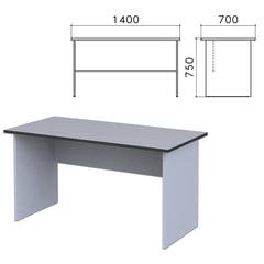 """Стол письменный """"Монолит"""", 1400х700х750 мм, цвет серый, СМ2.11"""