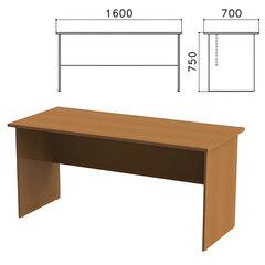 "Стол письменный ""Монолит"", 1600х700х750 мм, цвет орех гварнери, СМ3.3"