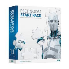 "Антивирус ESET NOD32 ""Start pack"", базовый комплект, 1 ПК на 1 год, бокс, ASP-NS(BOX)-1-1"