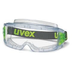 Очки защитные закрытые UVEX Ультравижн, прозрачные, ацетатная линза, защита от запотевания, 9301714