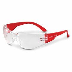 Очки защитные открытые РОСОМЗ О15 Hammer Active super, прозрачные, устойчивы к химическим веществам, незапотевающее покрытие, поликарбонат