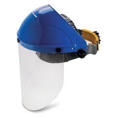 Щиток защитный лицевой, экран поликарбонат 2 мм, наголовное крепление, РОСОМЗ НБТ2 Визион, 425190