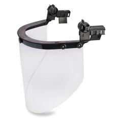 Щиток защитный лицевой РОСОМЗ КБТ Визион Titan, экран из поликарбоната 220х385мм, толщиной 2 мм, универсальное накасочное крепление