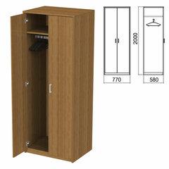 """Шкаф для одежды """"Арго"""", 770х580х2000 мм, орех (КОМПЛЕКТ)"""